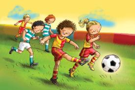 Ayrılmaz İkili: Çocuk ve Top!