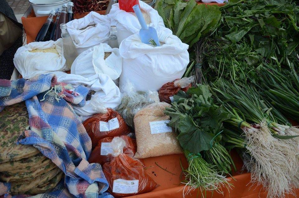 Hüseyin Uzun'un Ürünleri Her Çarşamba Bodrum'da Kurulan Üretici Pazarında.