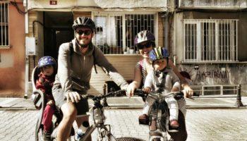 şehirde bisiklet